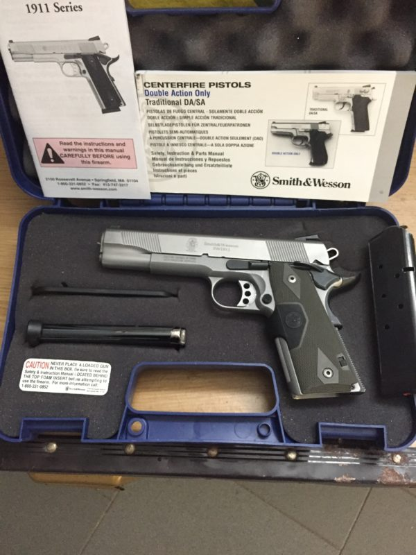 Smith & Wesson modello 1911 cal 45 acp