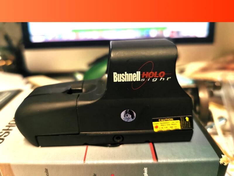 Bushnell holo sight gun sight