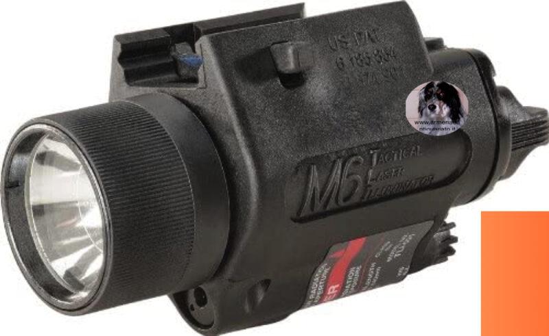 Laser M6 tactical laser illuminator