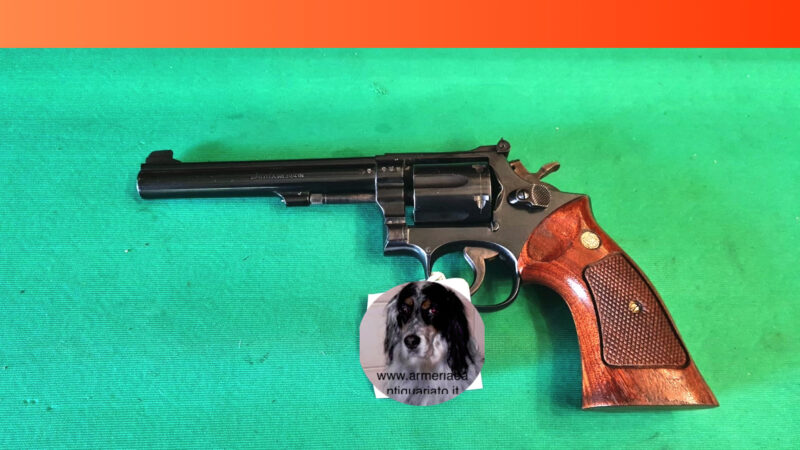 Smith&Wesson 13-4 cal.38sp 6 pollici