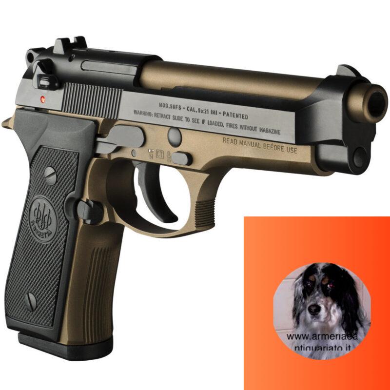 Beretta 98 special make bronzo e special make grey,