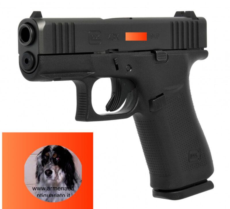 Glock 43 x rail euro 639,