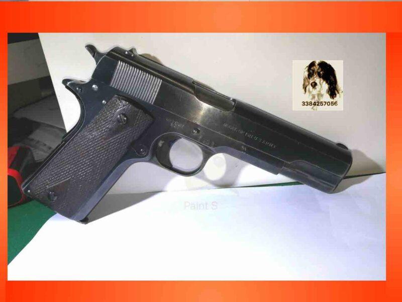 Colt mod 1911 anno 1913 Prima Guerra Mondiale