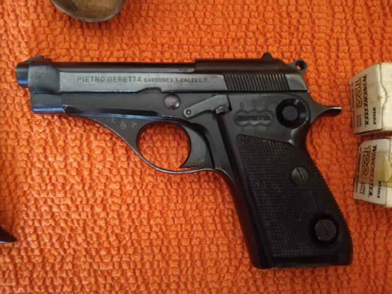 Pistola Beretta calibro 22