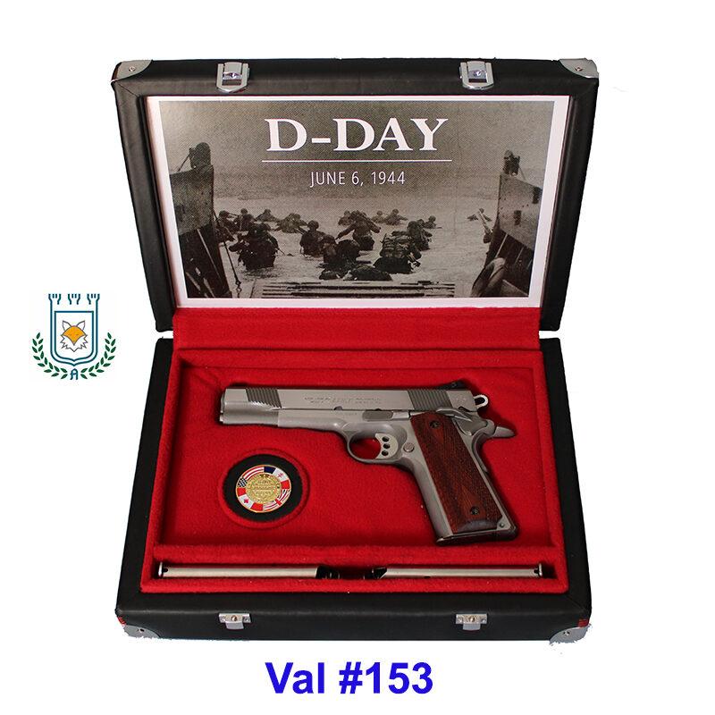 #0153 Valigetta Nuova in Pelle Colt 1911 - D-Day