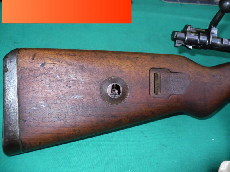 Mauser K98 SS sniper
