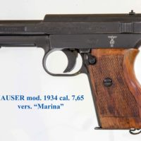 cedo Mauser 1934 Kriesmarine con fondine